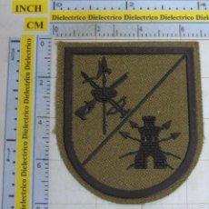 Militaria: PARCHE MILITAR LEGIONARIO. LEGIÓN ESPAÑOLA. INGENIEROS, TRANSMISIONES. VERDE. Lote 263209450