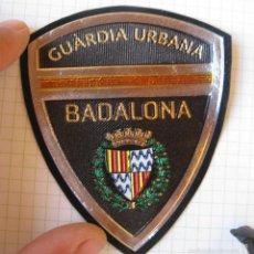Militaria: EMBLEMA PARCHE BRAZO GUARDIA URBANA BADALONA . Lote 60763687