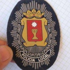 Militaria: EMBLEMA BRAZO POLICIA LOCAL CUENCA. Lote 60764019