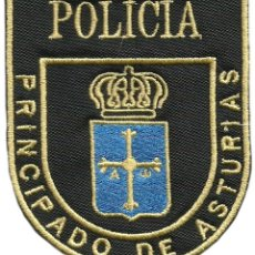 Militaria: POLICIA NACIONAL CNP UNIDAD ADSCRITA AL PRINCIPADO DE ASTURIAS REGION POLICE DEPT - EB01149. Lote 211706539