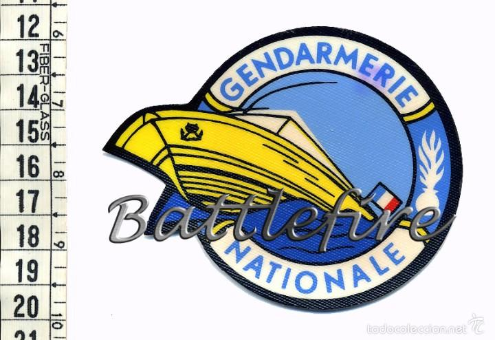 GENDARMERIE NATIONALE - FRANCIA - UNIDAD MARÍTIMA - POLICIA - PARCHE (Militar - Parches de tela )