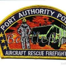 Militaria: PARCHE POLICIA AUTORIDAD PORTUARIA NEW YORK & NEW JERSEY - USA - BOMBEROS AEROPUERTOS. Lote 61109315