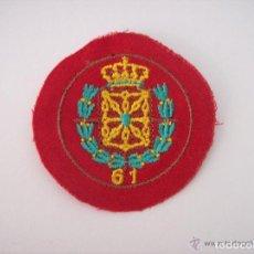 Militaria: ESCUDOS DE BRAZO DIVISION 61 BRIGADAS NAVARRAS. Lote 61475259
