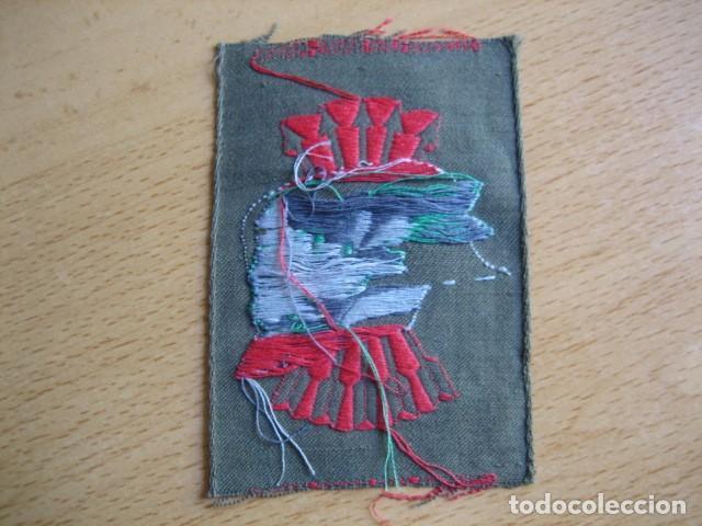 Militaria: Parche Hermandad nacional ex-combatientes fondo verde. - Foto 2 - 61821844