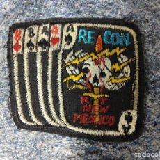 Militaria: PARCHE MILITAR MEXICO TRIO O POKER DE ASES - RE CON. Lote 62144308