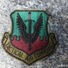 Militaria: PARCHE MILITAR BORDADO TACTICAL AIR COMMAND - EL DE LA FOTO. Lote 62144404