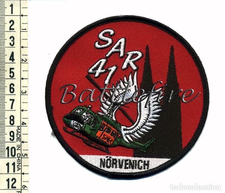 AMBULANCIAS AEREAS - SAR 41 - ALEMANIA - NORVENICH - HELICOPTEROS DE RESCATE - PARCHE (Militar - Parches de tela )