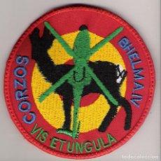 Militaria: PARCHE EMBLEMA BHELMA IV CORZOS. Lote 62703924