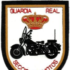 Militaria: GUARDIA REAL SECCION DE MOTOS - MOTORBIKE SECTION REAL GUARD - EB00352. Lote 79613554