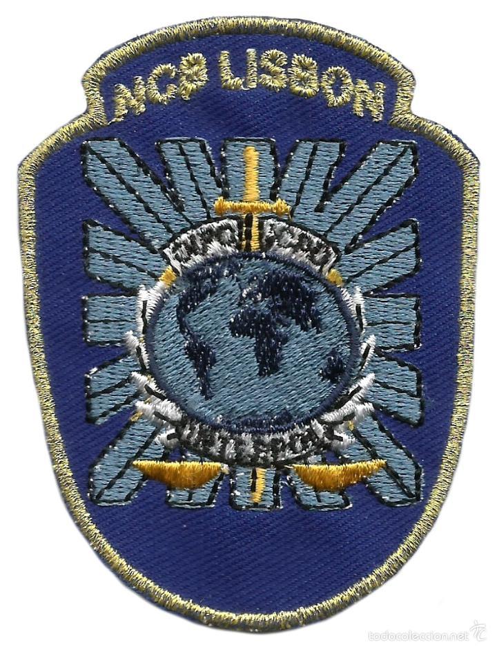 POLICIA JUDICIARIA DE PORTUGAL SIMILAR FBI - SEDE INTERPOL LISBOA EB01101 (Militar - Parches de tela )
