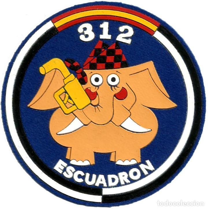 EJERCITO DEL AIRE ESCUADRON 312 SQUADRON SPAIN AIR FORCE EB00582 (Militar - Parches de tela )
