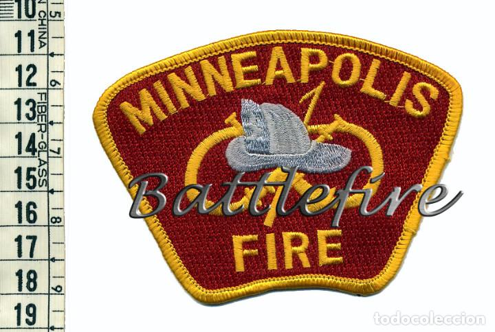 MINNEAPOLIS FIRE - USA - PARCHE BOMBERO (Militar - Parches de tela )