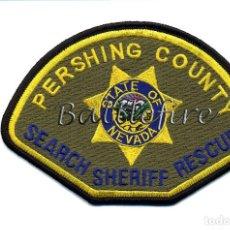 Militaria: PERSING COUNTY - SHERIFF - NEVADA - USA - UNIDAD DE BUSQUEDA Y RESCATE - POLICIA. Lote 69421417