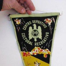 Militaria: FANTASTICO BANDERIN CENTRO DEPORTIVO CULTURAL RECREATIVO IFNI ESPAÑA SAHARA ESPAÑOL. Lote 72336275