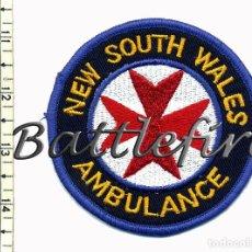 Militaria: NEW SOUTH WALES AMBULANCE - AUSTRALIA - PARCHE AMBULANCIAS. Lote 73358531