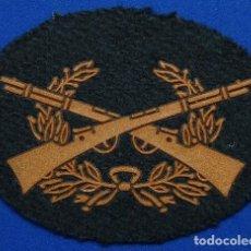 Militaria: PARCHE DE TELA GUARDIA CIVIL TIRADOR SELECTO PERMANENTE. Lote 73962871