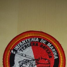 Militaria: PARCHE 3º BATERIA INFANTERIA MARINA. Lote 75085087
