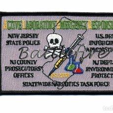 Militaria: EQUIPO RESPUESTA LABORATORIO EMERGENCIAS - NEW JERSEY - USA - ESTUPEFACIENTES - POLICIA. Lote 75513359
