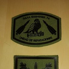 Militaria: PARCHES DEL RAAA 74 MISILES HAWK. Lote 75557615