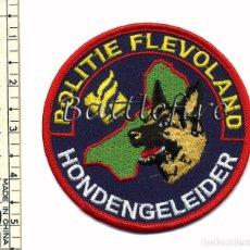 Militaria: POLICIA - UNIDAD CANINA K9 - HONDENGELEIDER HOLANDA. Lote 75638767