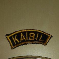 Militaria: PEQUEÑOS PARCHES MILITARES FUERZAS ESPECIALES KAIBIL GUATEMALA. Lote 75702999