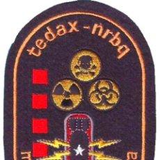Militaria: PARCHE POLICIA MOSSOS D´ESCUADRA TEDAX NRBQ. Lote 251023460