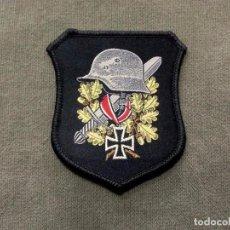 Militaria: PARCHE FANTASÍA WERMACHT, HEER, DIVISIÓN AZUL.. Lote 148228373