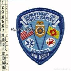 Militaria: POLICIA - BOMBEROS - AMBULANCIAS - SEGURIDAD PUBLICA - ALAMOGORDO - NEW MEXICO - USA - EMERGENCIAS. Lote 78581997
