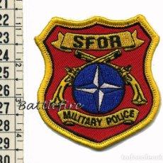 Militaria: SFOR - OPERACIONES NATO OTAN EN BOSNIA - POLICIA MILITAR. Lote 79726725