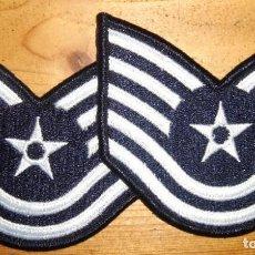 Militaria: PARCHE GALONES FUERZA AEREA USA USAF GRADOS. Lote 252101660