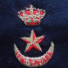 Militaria: DISTINTIVO PERMANENCIA EN TROPAS NÓMADAS IFNI - SAHARA. BORDADO EN HILO CANUTILLO. AÑOS 1985 / 1995. Lote 84418328