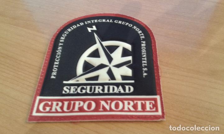 1 EMBLEMA PARCHE DE TELA VIGILANTE DE SEGURIDAD *IMPECABLE* ¡ ENVIO CERTIFICADO GRATIS ! (Militar - Parches de tela )