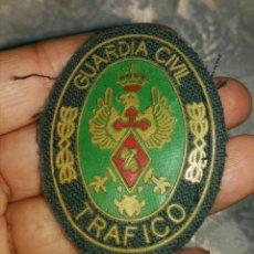 Militaria: EMBLEMA GUARDIA CIVIL DE TRAFICO.RELIEVE GOMA.VINTAGE. Lote 84657719
