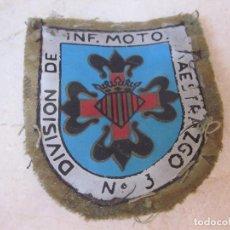 Militaria: PARCHE TELA DIVISION INF. MOTO MAESTRAZGO Nº 3. Lote 84890968