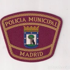 Militaria: PARCHE EMBLEMA ESCUDO POLICÍA MUNICIPAL MADRID GUÍAS CANINOS . Lote 85930524