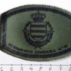 Militaria: PARCHE DE PECHO RIMZ CÓRDOBA 10. Lote 191862970