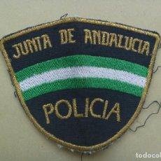 Militaria: PARCHE DE BRAZO DEL CUERPO NACIONAL DE POLICIA , AUTONOMICA DE ANDALUCIA. Lote 293836948