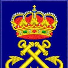 Militaria: PARCHE BORDADO DISTINTIVO CAPITAN DE YATE.. Lote 106614523