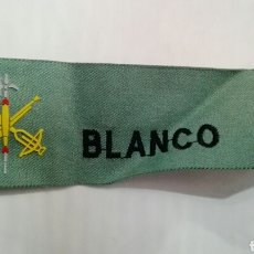 Militaria: PARCHE LEGIONARIO BLANCO. Lote 90785033
