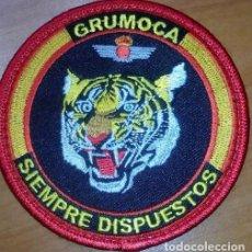 Militaria: PARCHE BORDADO. GRUMOCA. EJERCITO AIRE. ESPAÑA. Lote 91054735