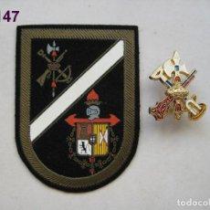 Militaria: LOTE DE PARCHE DE LA LEGIÓN E INSIGNIA. ENVÍO GRATUITO (CERTIFICADO).. Lote 92443470