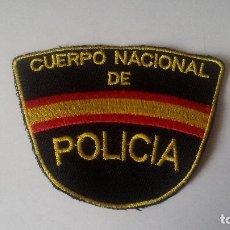 Militaria: PARCHE DE BRAZO - CNP - CUERPO NACIONAL DE POLICÍA - POLICÍA NACIONAL - SIN USAR.. Lote 102360687