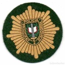 Militaria: PARCHE DE BOINA DE LA POLICIA DE ANDORRA. Lote 194892893