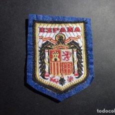 Militaria: ANTIGUO ESCUDO DE ESPAÑA ,ÉPOCA DE FRANCO,AGUILA DE SAN JUAN,FALANGE,COLECCIONISMO. Lote 95751747