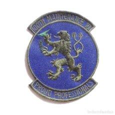 Militaria: PARCHE ORIGINAL AMERICANO,100 TH MAINTENANCE. Lote 97125887