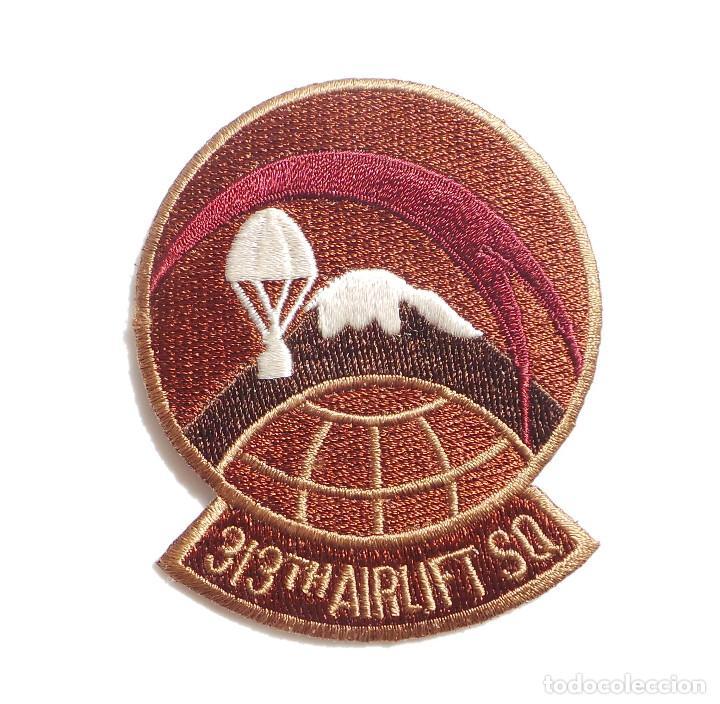 PARCHE ORIGINAL AMERICANO,313TH AIRLIFT SQ (Militar - Parches de tela )
