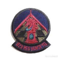 Militaria: PARCHE AMERICANO-ORIGINAL- 823 RED HORSE. Lote 97126047