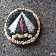 Militaria: (JX-170942)EMBLEMA BORDADO , JEFE DE CAMPAMENTO DE LA O.J.E.. Lote 97221843