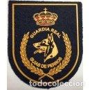 Militaria: ESTUPENDO PARCHE GUÍA DE PERROS GUARDIA REAL DE LA GUARDIA CIVIL. Lote 129272890