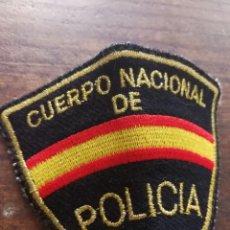 Militaria: ANTIGUO PARCHE DE BRAZO BORDADO- CUERPO NACIONAL DE POLICIA.. Lote 97709239